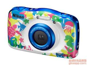 资讯生活三防相机:Nikon 尼康 发布 新款卡片机COOLPIX W100